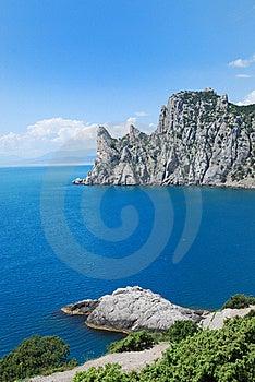 Guard Mountain Karaul-Oba On The Crimean Coast. Royalty Free Stock Photo - Image: 22563165