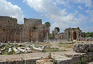 Remains Of Ancient Roman City Stock Photography - Image: 22571972