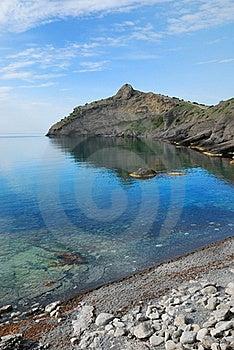 Pointed Cape Kapchik On The Crimean Coast. Stock Image - Image: 22573081