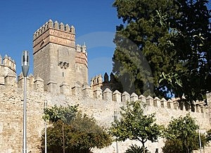 The Tower Of The Castle Royalty Free Stock Images - Image: 22573819