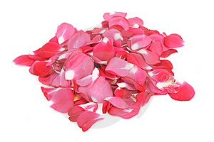 Pile Of Red Rose Petals Stock Photo - Image: 22576970