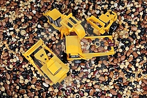 Toy Trucks Royalty Free Stock Photos - Image: 22584498
