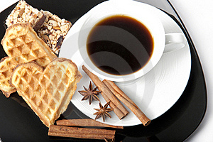 Aromatic Cup Of Coffee Royalty Free Stock Photography - Image: 22594197