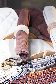 Cloth Tablecloths Royalty Free Stock Images - Image: 22595099