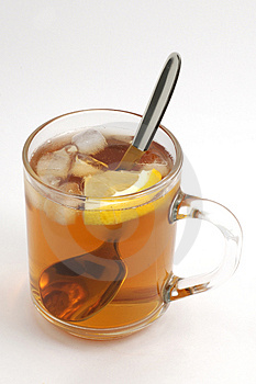 Cup Of Tea With Ice Stock Images - Image: 2268004
