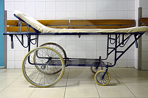Hospital bed Royalty Free Stock Photo