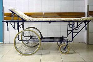 Hospital bed Royalty Free Stock Photo