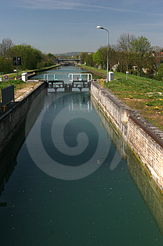 Canal Lock Royalty Free Stock Photos - Image: 2268798