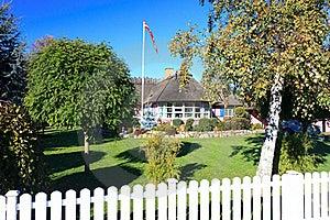 Danish Summerhouse Royalty Free Stock Images - Image: 22602349