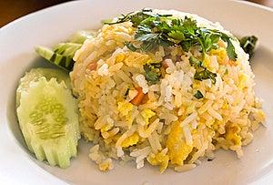 Thai Food Fried Rice Stock Photo - Image: 22607900