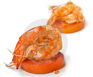 Delicious Prawn Stock Photo - Image: 22610480