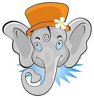 Funny Elephant Stock Photos - Image: 22611713