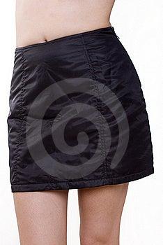 Black Mini Skirt Stock Photography - Image: 22616252