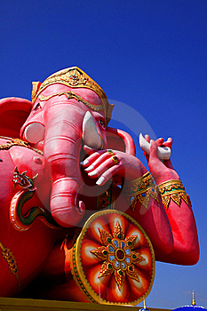 The Statue Of Lord Ganesh Royalty Free Stock Photography - Image: 22621307