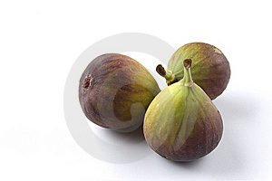 Three Fresh Figs Royalty Free Stock Photo - Image: 22622745