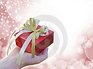 Giving Gift Royalty Free Stock Photography - Image: 22632507