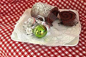Chocolate Log Royalty Free Stock Photo - Image: 22647275