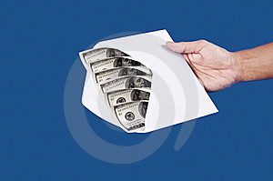 Sending Your Money Royalty Free Stock Photography - Image: 22656997