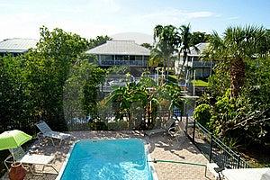 Overlooking Swimming Pool Stock Image - Image: 22657211