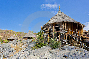 Hut On The Hill Royalty Free Stock Image - Image: 22663046