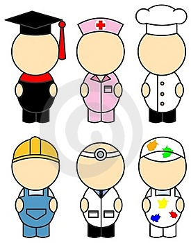 Occupation Costumes Stock Images - Image: 22673414