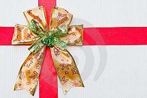 Gold Gift Ribbon Stock Images - Image: 22673444