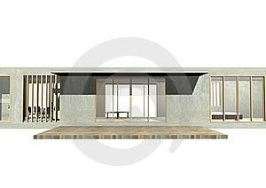 Entrance Of Housing Stock Image - Image: 22673501