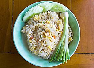 Thai Food Fried Rice Royalty Free Stock Photo - Image: 22674705