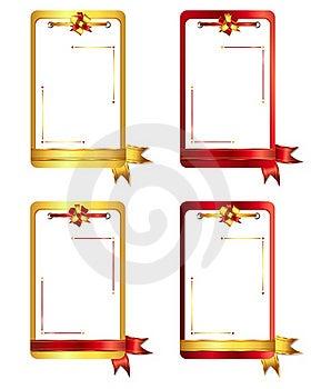 Ribbons And Bows 1-3 Stock Photo - Image: 22680670