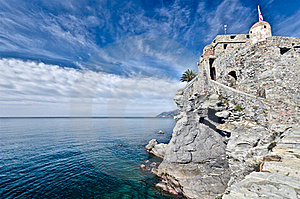 Castle Of Camogli, Italy Royalty Free Stock Photography - Image: 22682077