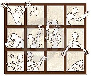 Window Of Emotions Stock Photo - Image: 22682800