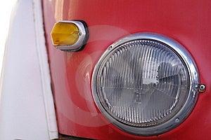 Vintage Lamp And Flashing Light Stock Photos - Image: 22687423