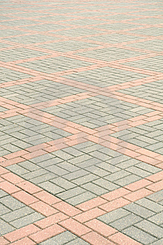 Tiled Pavement Royalty Free Stock Photography - Image: 22687937