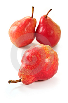 Red Pears Royalty Free Stock Image - Image: 2270106