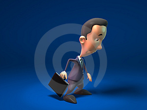 Sad Business Man Royalty Free Stock Images - Image: 2270449