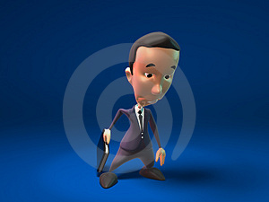 Sad Business Man Royalty Free Stock Image - Image: 2270456