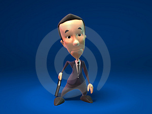 Sad Business Man Royalty Free Stock Photos - Image: 2270468