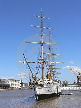 Old Tall Ship Stock Image - Image: 2275451