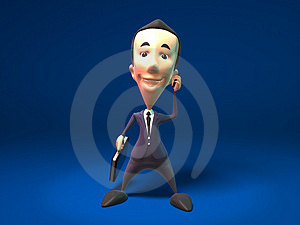 Happy Business Man Royalty Free Stock Images - Image: 2278569
