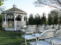Wedding Gazebo Royalty Free Stock Photos