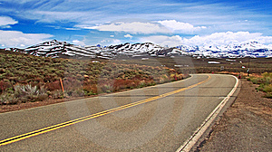 Road And Mountains Stock Photo - Image: 22701620