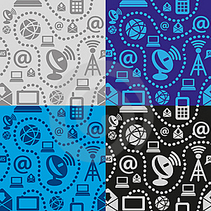 Web Technology Seamless Pattern Stock Photo - Image: 22709180