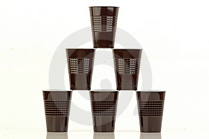 Plastic Cups. Stock Image - Image: 22709831