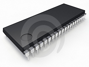 Microchip Royalty Free Stock Images - Image: 22714859