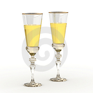 Wineglasses Royalty Free Stock Images - Image: 22724259