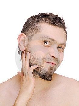 Men Before Shaving Stock Photo - Image: 22725000
