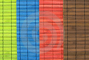 Bamboo Table-cloth Royalty Free Stock Image - Image: 22737826