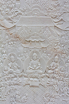 Stone Carving Background Royalty Free Stock Images - Image: 22759789