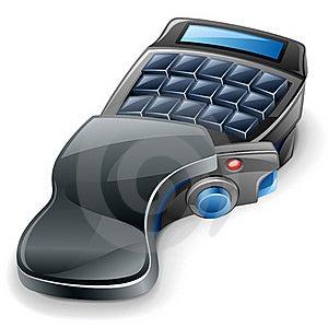 Game Keyboard Stock Photo - Image: 22763220