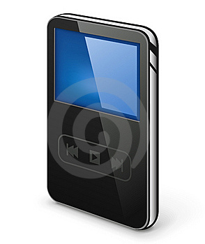 Personal Media Player Royalty Free Stock Photography - Image: 22763317